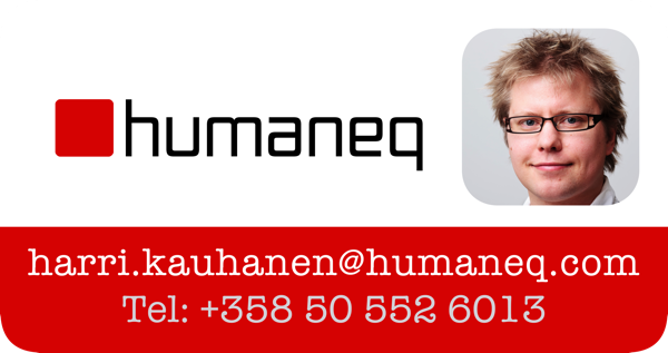 Humaneq business card